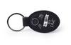 Black Oval Keychain