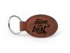 Chestnut Oval Keychain