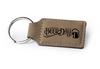 Buckskin Rectangular Keychain