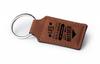 Chestnut Rectangular Keychain