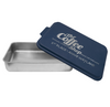 Cake  Pan with Blue Lid
