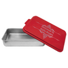 Cake Pan with Red Lid