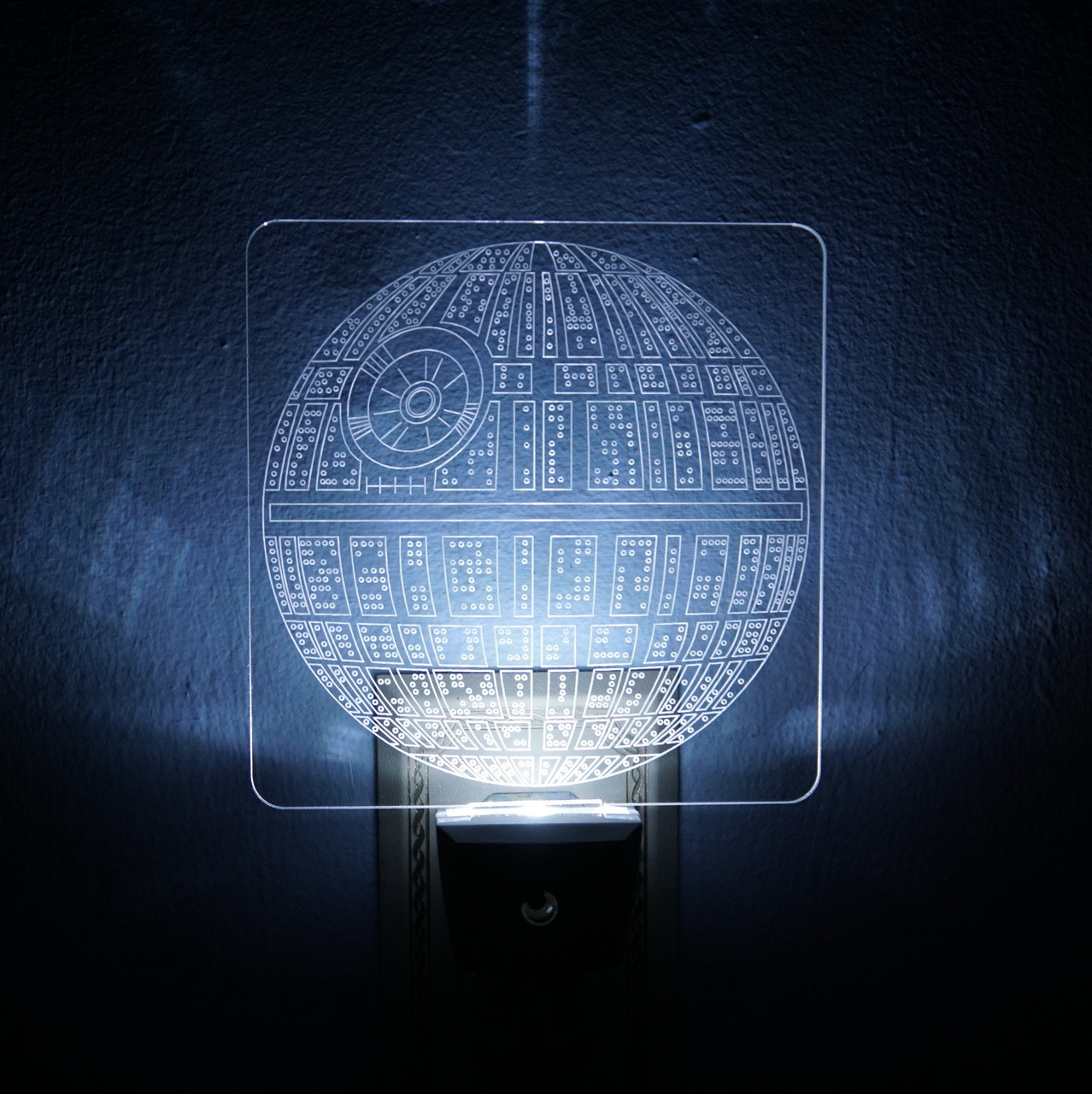 Led Night Lights Ad Astra Engraving