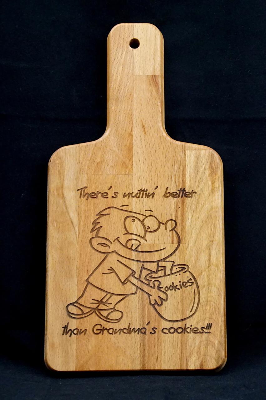 Personalized Cutting Board Paddle Cutting Board Custom Engraved Cutting Board