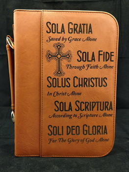 Laser Engraved Bible Cover