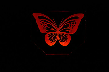 LED Butterfly Lamp