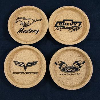 Custom Engraved Cork Coasters