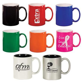Colors of Coffee Mugs