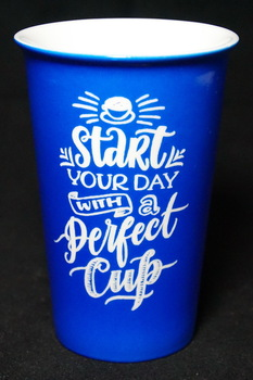 Start Your Day With A Perfect Cup Laser Engraved Latte Mug