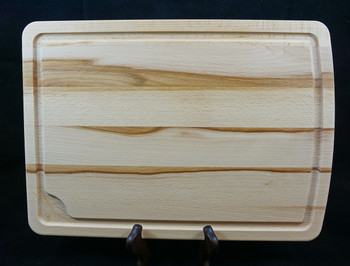 High Quality Beech Cutting Board with juice groove.