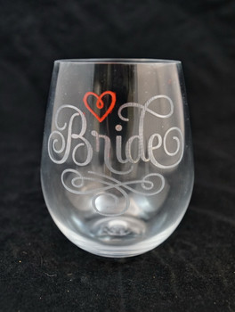 Plastic Wine Glass with limited color fill