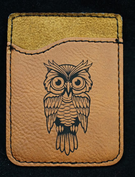 Phone Wallet with Owl