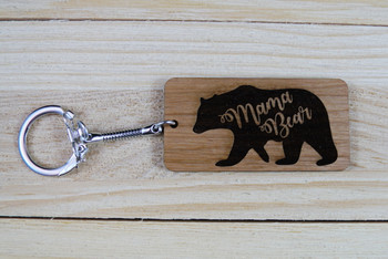 Moma Bear Keychain