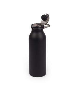 Black Bottle with Lid