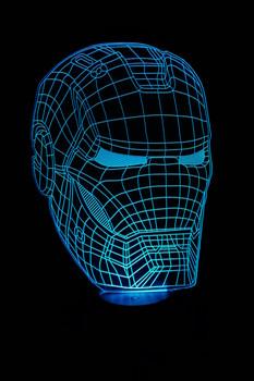 Iron Man LED Lamp