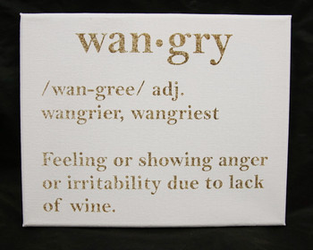 Wangry...perfect for any wine lovers