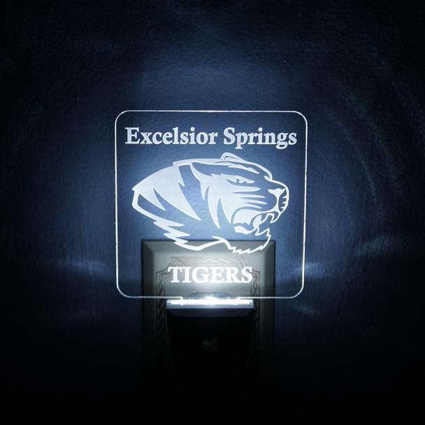 Excelsior Springs Tigers LED Night Light
