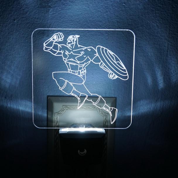 Superhero LED Night Light