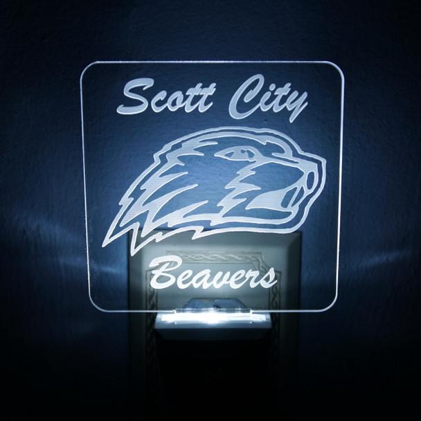 Scott City Beavers LED Night Light