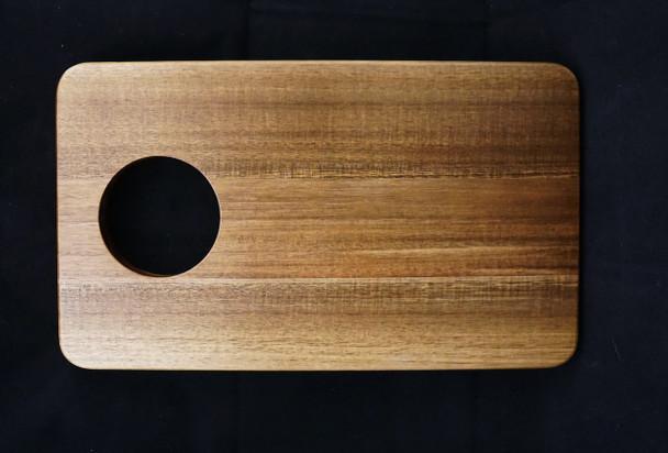 "Medium Sized  14"" x 8.25"" x .69"" Acacia Serving Board"