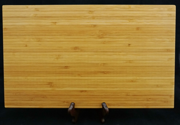 """Large 17-3/4"""" by 11"""" Bamboo Cutting Board Ready to be laser engraved for you."""