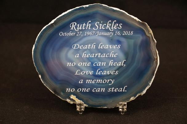 Memorial Agate