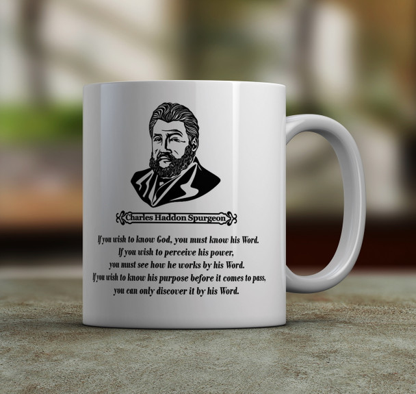 Spurgeon Quote Coffee Mug