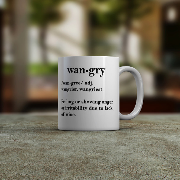 Wangry Coffee Mug