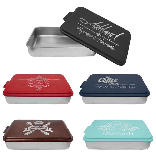 Custom Laser Engraved Cake Pans