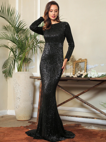 Mila Label Amirah Gown - Black