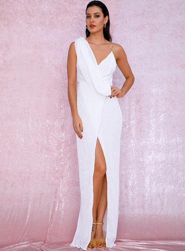 Mila Label Octavia Gown - White