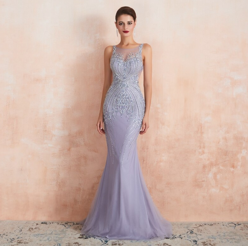Lilianne Couture Gown - Lilac