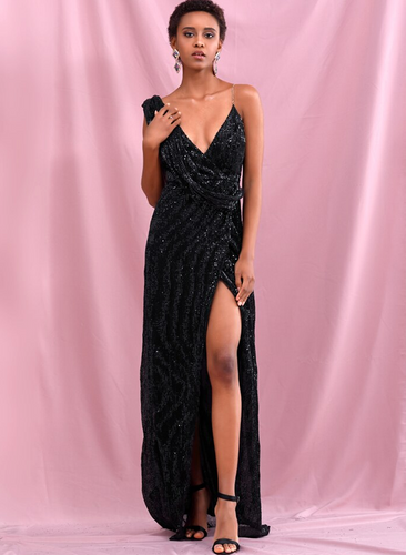 Octavia Gown - Black