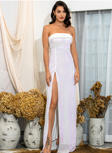 Mila Label Adonis Gown - White