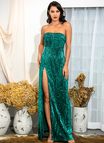 Mila Label Adonis Gown - Emerald