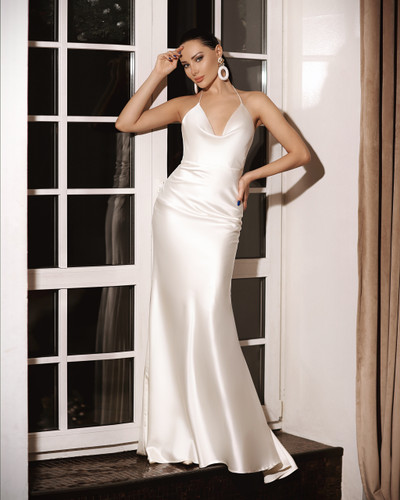 JP103 Gown - Ivory