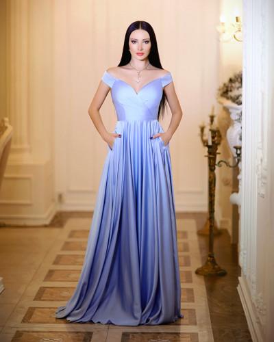 JP106 Gown - Powder Blue