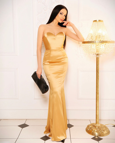 JP107 Gown - Gold