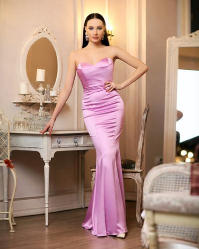 JP107 Gown - Violet