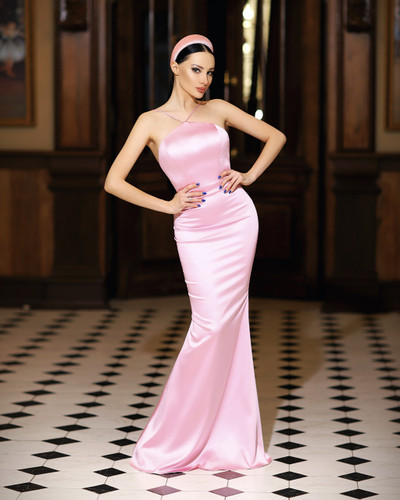 JP108 Gown - Pink