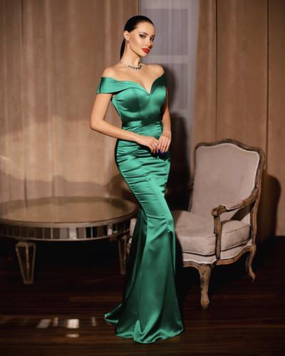 Jadore JP109 Gown - Emerald