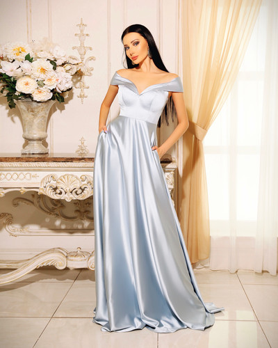 Jadore JP110 Gown - Powder Blue