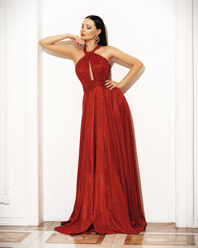 Jadore JP113 Gown - Red