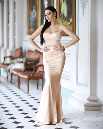 Jadore JP114 Gown - Champagne