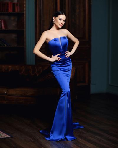 Jadore JP115 Gown - Cobalt