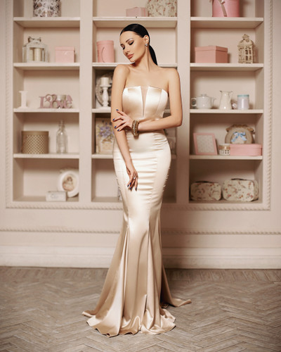 Jadore JP115 Gown - Cream