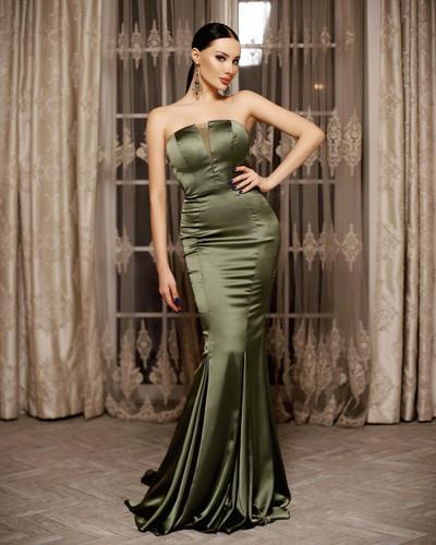 Jadore JP115 Gown - Olive