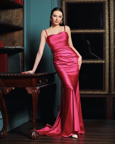 Jadore JP116 Gown - Magenta