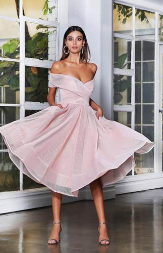 Jadore JX4003 Dress - Dusty Pink