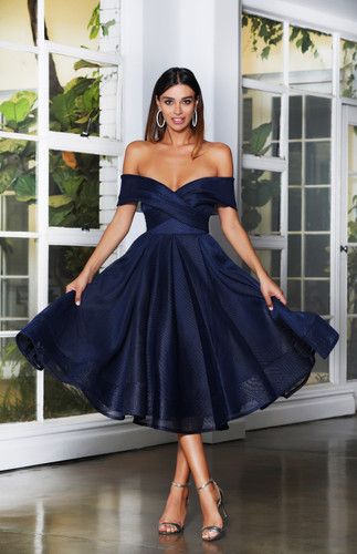 Jadore JX4003 Dress - Navy